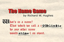 Gem Nomenclature • The Name Game