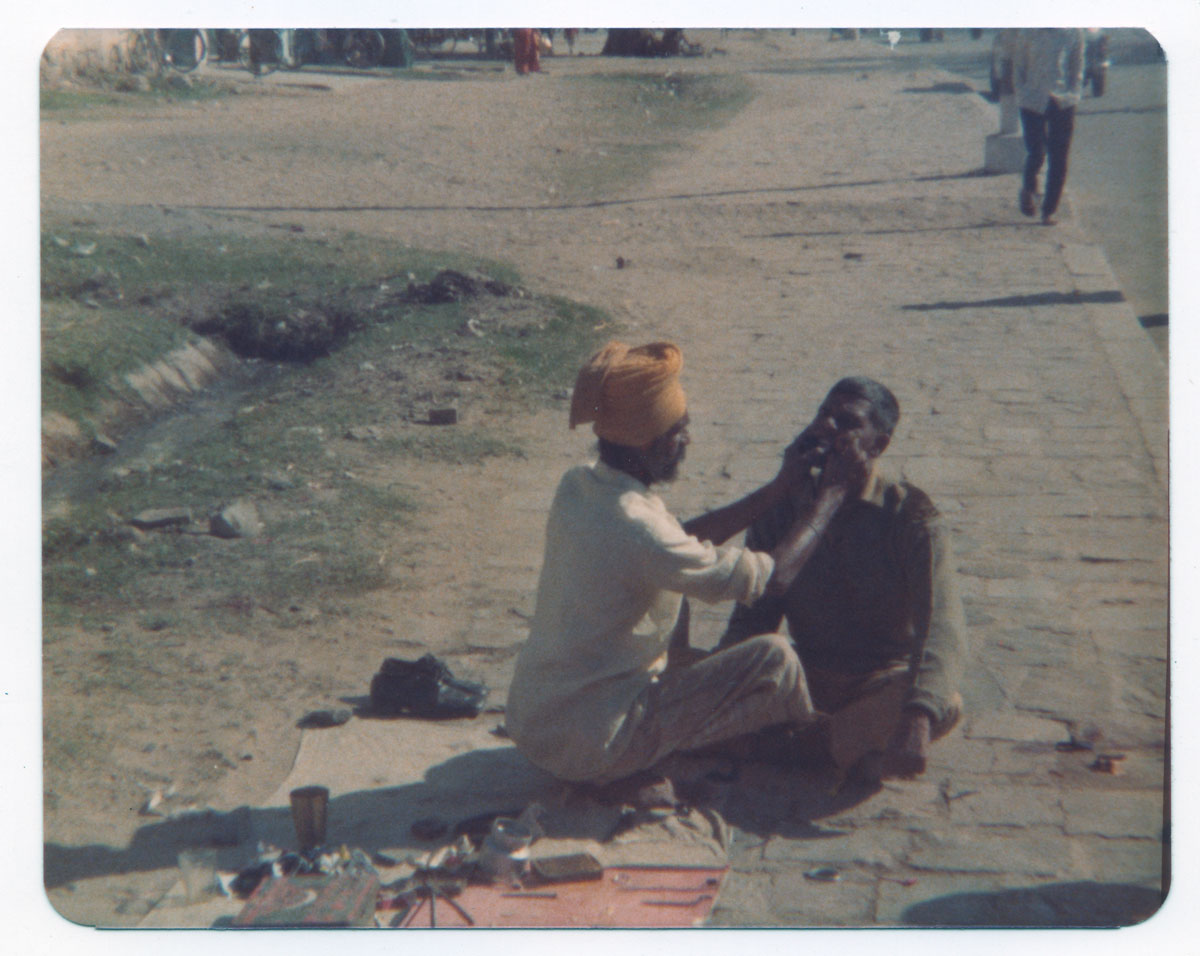 A Jaipur dentist—1976. Photo: Richard W. Hughes
