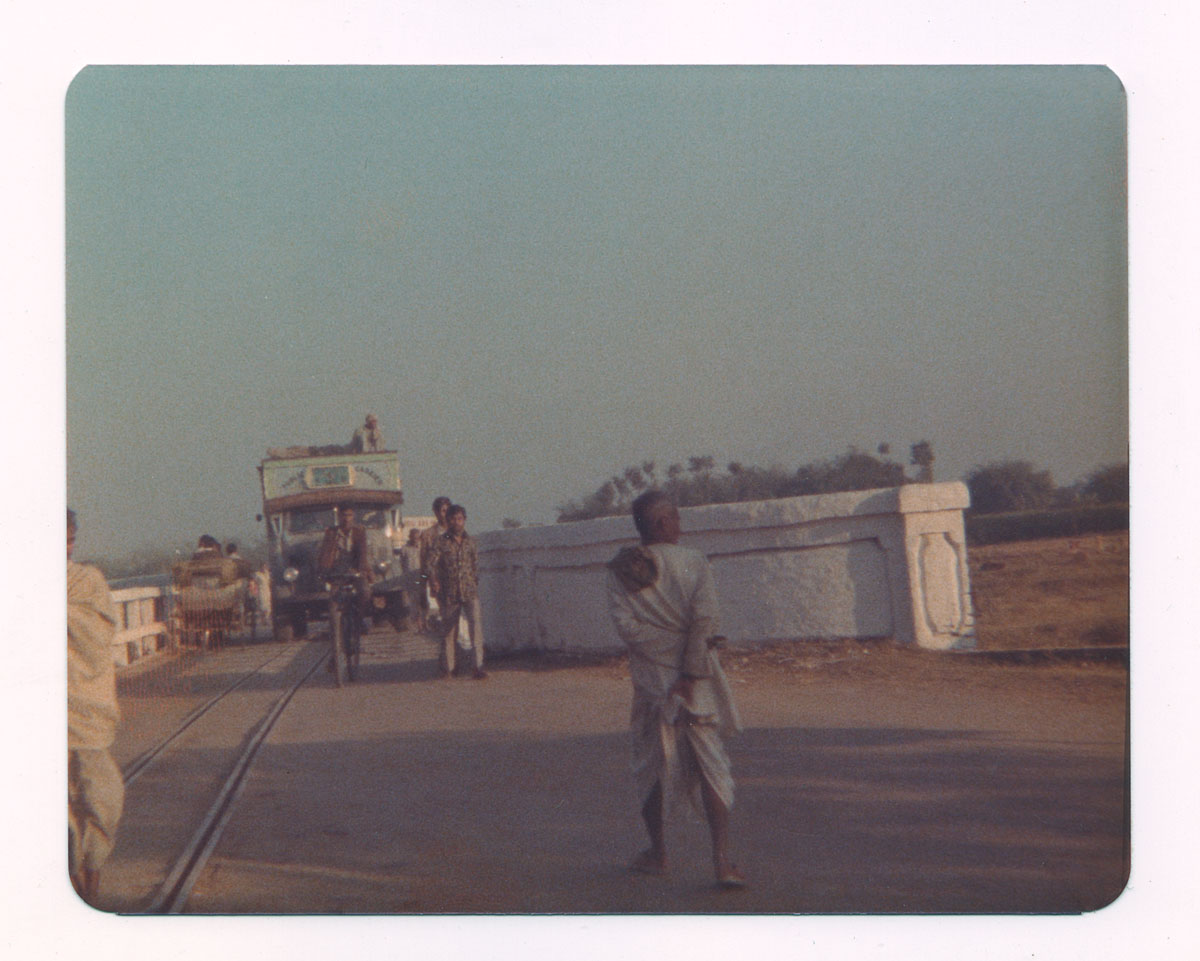 India-Nepal Border at Raxaul—December 1976