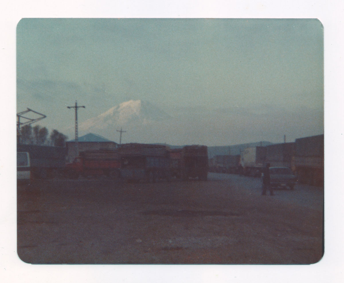 Mt. Ararat from the Turkey-Iran border at Tabriz—1976