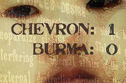 Burma Embargo & the Gem Trade • Chevron 1; Burmese 0