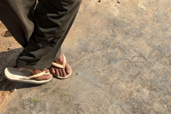 Fancy footwork