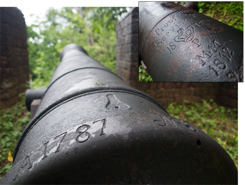 Cannon at Chanthaburi