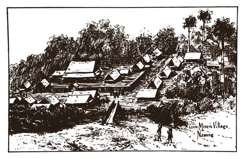 Na Wong village. From Smyth (1898) Five Years in Siam—From 1891 to 1896.