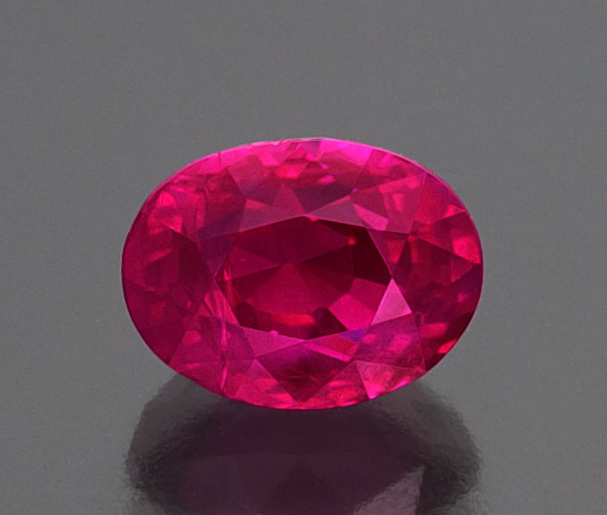 This Mogok ruby epitomizes the quality that has made the Burmese locality second-to-none in the world of rubies. 4.02 ct; unheated; Veerasak Gems. Photo: Wimon Manorotkul