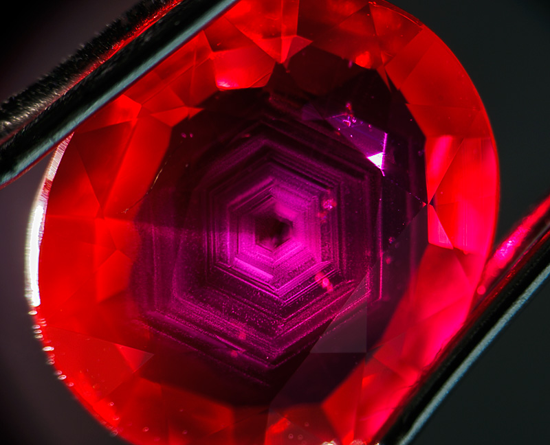 Silk plus fluorescence is a winning combination in ruby