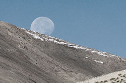 Ruby & Spinel from Tajikistan • Moon Over the Pamirs